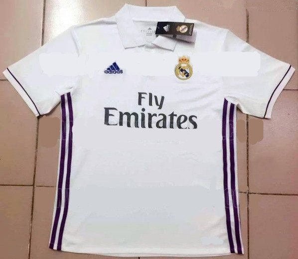Real Madrid 2016-17 home jersey